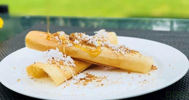 如何使新鲜的椰子和日期糖浆棕榈玉米饼(棕榈玉米饼用新鲜的椰子和日期糖浆食谱)